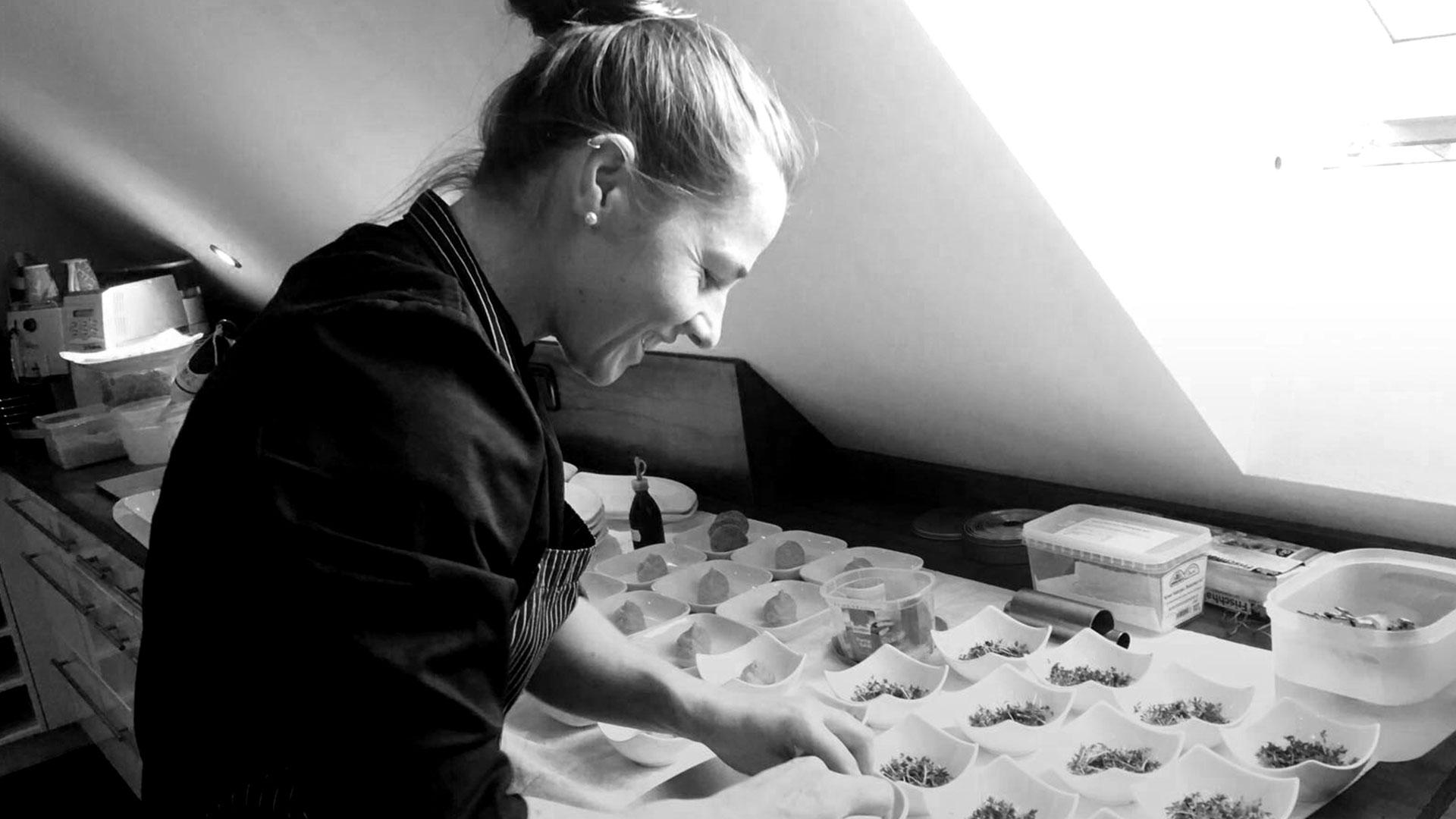 Kochen ist Intuition<br> und Kreativität...
